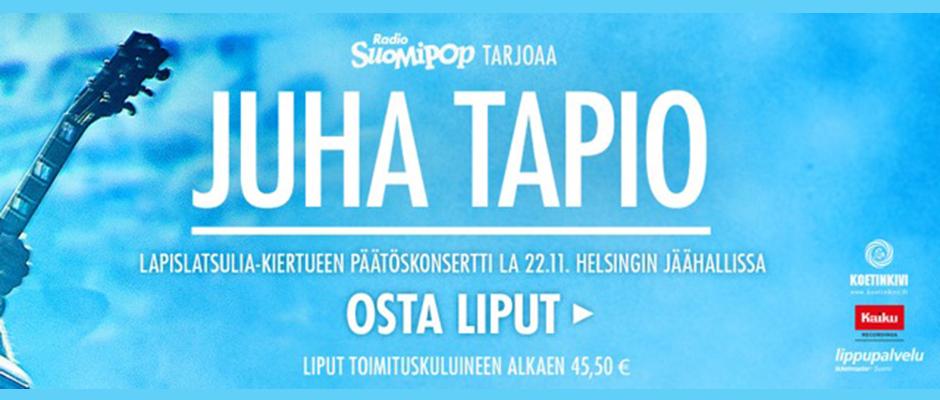 Juha Tapio Jäähalli