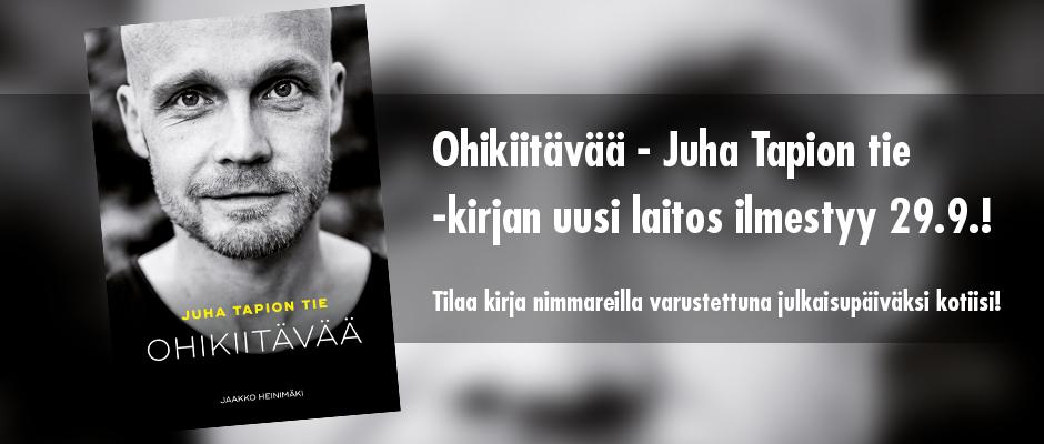 Tilaa Juhan tie -kirja ennakkoon